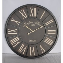 Round Shape Metal Wire Wall Clock