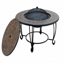 Round Table Fire Pit 89cm