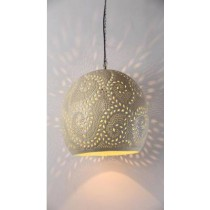 Round Unique etch Hanging lamp