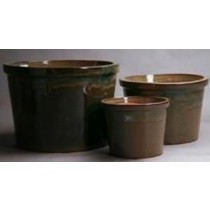 High Quality Green Ht 20 Cm Ceramic Pot