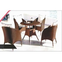 Royal Style Garden Outdoor Dinning Set(4 Chair + 1 Table)