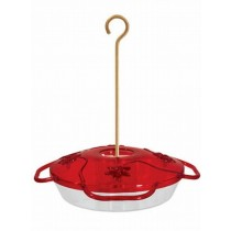 Ruby Red Hanging Bird Feeder