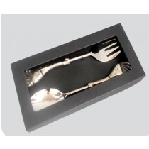 Salad Serving Set Of 2 Pcs In Window Box