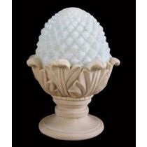 Sandstone Diamond Cut Pattern Landscape Lamp