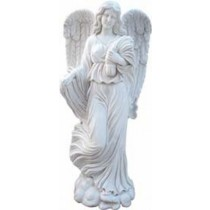 Sculpture of a beautiful lady Angel