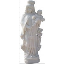 Sculpture of a beautiful Mother with Holding child