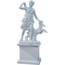 Sculpture of Huntsman with Deer