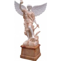 Sculpture of Men Angel