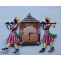 Sedan Chair Wall Clock