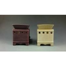 Set -2 Colored  Ceramic Electric Wax diffuser Warmer Oil Burner