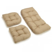 Set of 3 Piece U Shaped Cushion