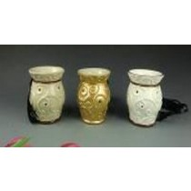 Set Of 3 Vase Style Ceramic Electric Wax Warmer Oil Burner(Set Of 3)