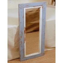 Shabby Chic Mango Wood Mirror Frame