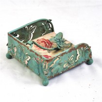 Shabby Chic Metal Napkin holder