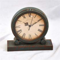 Shabby Chic New Style Metal Desk Clock