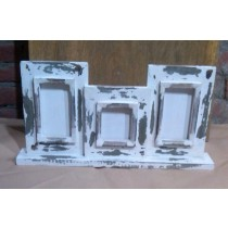 Shabby Chic Wooden Rectangle Photo Frames(Set/3)