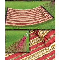 Shaded Pink Quilted Hammock