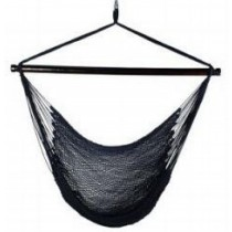 Shaded White & Black  Caribbean hammock chair
