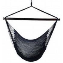 Shaded White & Black  Caribbean hammock chair