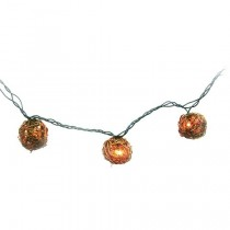 Shine Clear Grapevine Ball Cover String Light Set