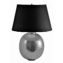 Shiny Finish Aluminum Hand Made Hammered Table Lamp