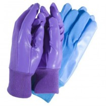 Shiny Plain Garden Gloves