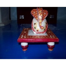 short stool With Lord Ganesh