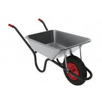 Silver Color Wheel Barrow