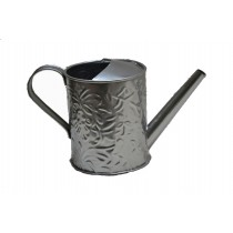Silver Floral Embossed Small Watercan