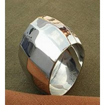 Silver Plated Metal Brass Napkin Ring