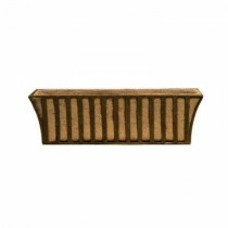 Simple Design Brown Metal Window Box
