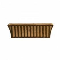 Simple Design Brown Metal Window Box