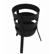 Simple Steel Metal Fire Basket