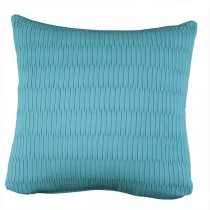 Sky Blue 16 Inch Solid Square Cushion