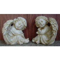 Sleeping Angel Garden Sculpture(13.9 X 13.7 X 15.3 CM)