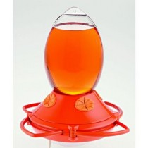 Slice Shaped Glass Bird Feeder