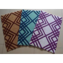 Small- Square Design Bathmat