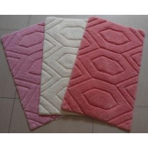 Small-Hexagonal Design Bathmats