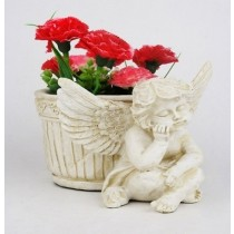 Small Angel Planter
