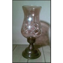 Small Diamond Design  Glass Lamp(10'' X 5.5'')