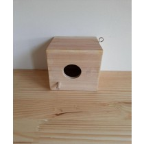 Small Fir Wooden Decorative Bird House