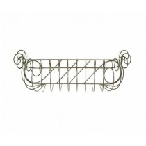 Small Iron Scroll Window Box 31 Inch