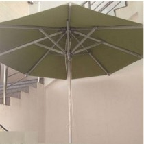 Small Luxury Aluminum Brushed Umbrella