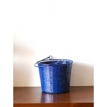 6'' Navy Blue Basket Galvanized Metal Planter