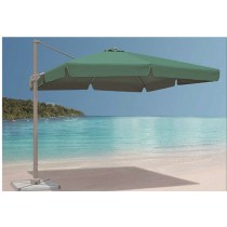 Small Rome Aluminum Green Umbrella(Size L 250  X W 250 M)