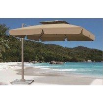 Small Rome Aluminum Umbrella(Square& Double tops)