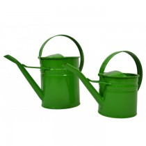 Small Size Green Steel Watering Can
