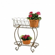 Small Size Metal Oval Planter Stand