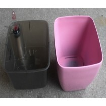 Small Size Pink Color Self-Watering Planter