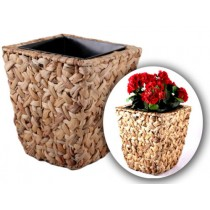 Small Size Rattan Flower Pot Planter